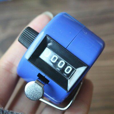 Tally Counter Hand Held Clicker 4 Digit Golf Pitch Number Counting Club Random
