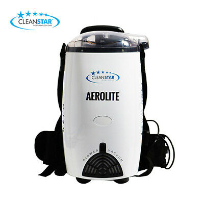 Cleanstar Aerolite 1400 Watt White Backpack Vacuum and Blower