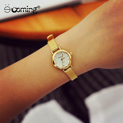 Women Small Dial Delicate Watch Lady Luxury Business Chronograph Wrist Watches