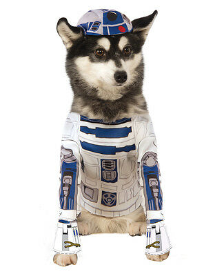"R2-D2 Star Wars Dog Pet Costume, Large, Neck to Tail 22"", Chest 23"""