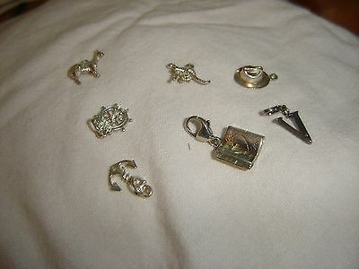 925 silver charms all in picture sold as 1 lot