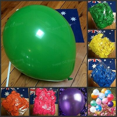 10pk Latex Helium 10inch 25cm Quality Pearl Balloon Party Wedding Birthday Small