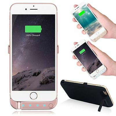 Battery External Power Slim Charger Case Charging Cover For iPhone 6 7 8 Plus X