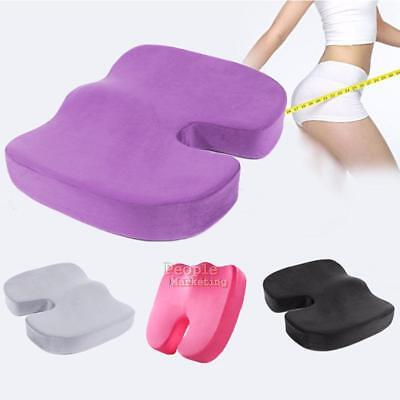 Coccyx Orthopedic Memory Foam Seat Cushion Chair Car Office Pain Relief Bolster