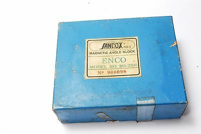 Spi Enco Sandox Sd-3 Magnetic Transfer Angle Fixture Grind Block Machinist