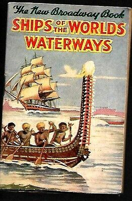 D.c.thompson 1930's Skipper Comic Mini Book  Of Ships Of The Worlds Waterways Vg