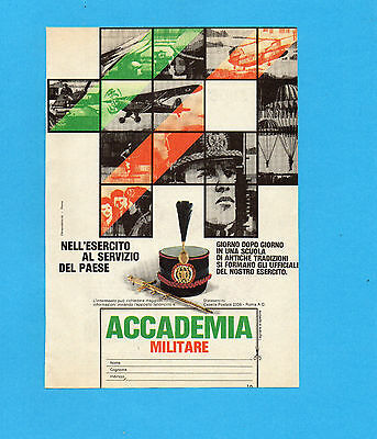 Top984-Pubblicita'/advertising-1984- Accademia Militare