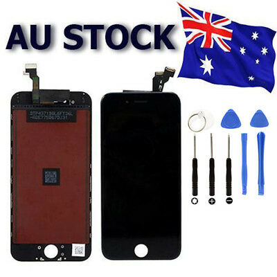 "For iPhone 6 LCD Black Screen Replacement Digitizer Display Assembly 4.7"" AU"