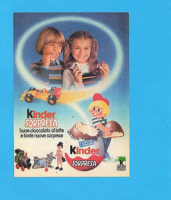 Top984-Pubblicita'/advertising-1984- Kinder Sorpresa
