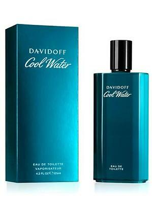 Cool Water Cologne by Davidoff, 4.2 oz EDT Spray for Men NEW