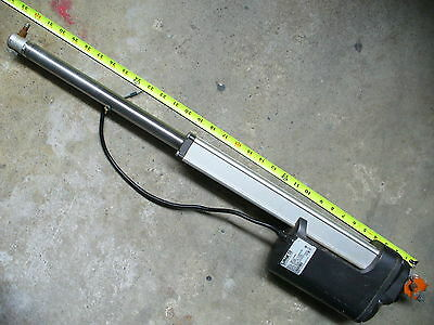 LINAK actuator 24v motor robotics 11 inch travel 6800n 1500 lb force push pull