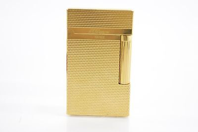 Classic S.T Dupont Ligne 2 Gold Plated Lighter