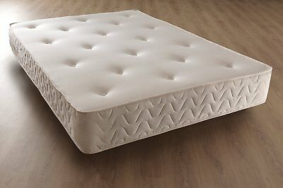"""10"""" Thick Luxury Memory Foam Orthopaedic Sprung Mattress - 3Ft, 4Ft 6, 5Ft, 6Ft"""