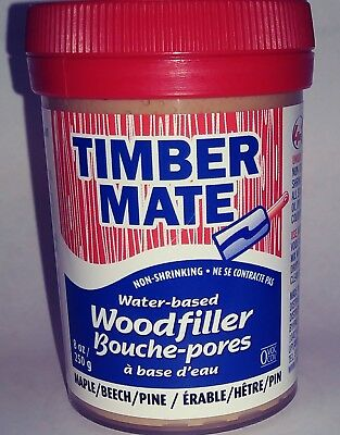 Timbermate Water-based Wood Filler 8oz (Many Colors)