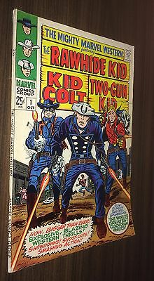 MIGHTY MARVEL WESTERN #1 -- October 1968 -- Jack Kirby -- F+ Or Better