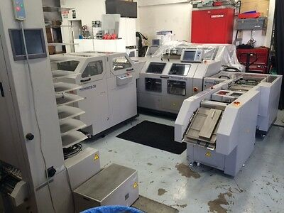 Horizon Stitchliner 5500 , 2 Tower 20 Bin Vac100 Bookletmaker , 3 Knife Trimmer