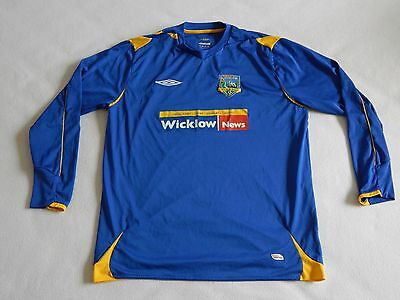 Wicklow & District Ireland Football Shirt Number 3 Mens Large