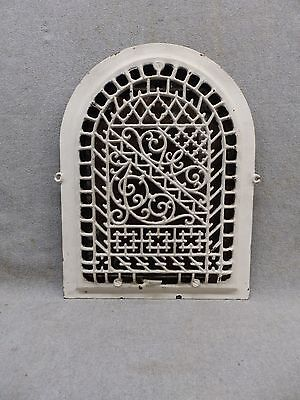 Antique Cast Iron Arch Top Dome Heat Grate Wall Register 14x10 337-17P