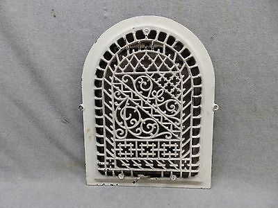 Antique Cast Iron Arch Top Dome Heat Grate Wall Register 14x10 338-17P