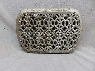 Antique Cast Iron Hot Water Steam Radiator Cover Plant Stand Garden 13x8 342-17P