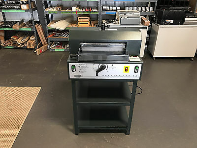 """Challenge Spartan 150SA Paper Cutter 15"""" - Fully Serviced, Tested & Works Great!"""