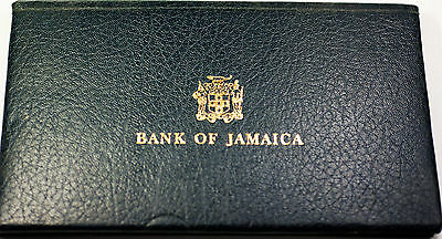 1977 Bank of Jamaica $10, $5, $2, and $1 Four Crisp Uncirculated Currency Set