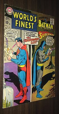 WORLD'S FINEST #171 -- November 1967 -- Batman / Superman -- F- Or Better