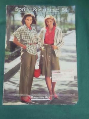 Montgomery Ward 1984 Spring & Summer Catalog Fashion Jewelry Hair Go Carts Linen