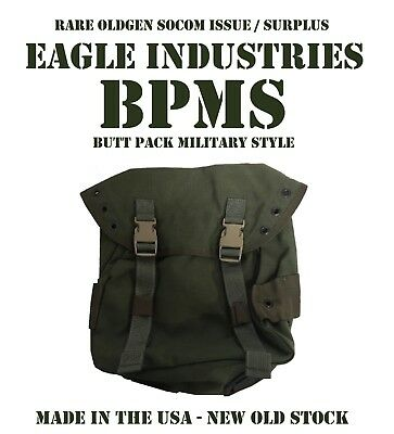 NEW RARE OLDGEN EAGLE IND OD GREEN BPMS BUTT PACK ALICE MOLLE SOCOM DEVGRU SEALs