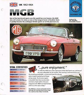 vintage MG BROCHURES / Road Tests IMP Collection: MGB/RV8,GT,B,RV-8