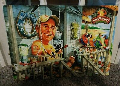 JIMMY BUFFET SITTING ON PORCH MARGARITA 18x24 METAL BEER SIGN...