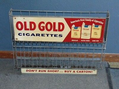 Old Gold Cigarette Retail Carton Display