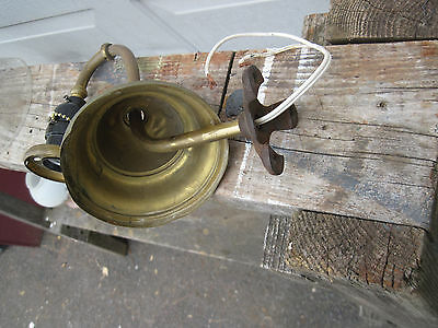 VTG 1920's Art Deco Antique wall Light Fixture