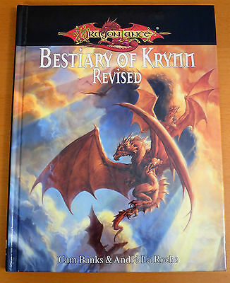 Dragonlance Bestiary of Krynn Revised - Dungeons & Dragons 3.5 - NEW
