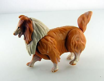Vintage Lassie Collie Articulated Dog - Made in Hong Kong