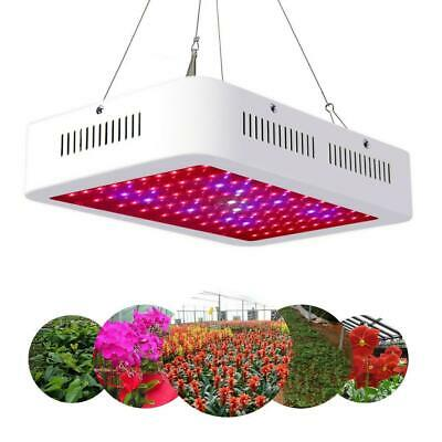 1000W LED Plant Grow Light Full Spectrum Lamp Indoor Greenhouse Veg Flower Fruit