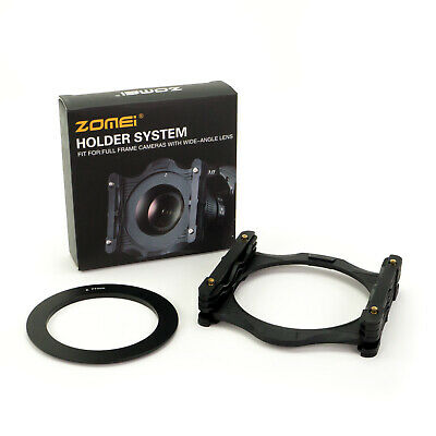"Zomei Pro 4x4"" Filter Holder with 77mm Ring for 100mm x 100mm square filters"