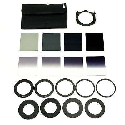 Zomei P Series Neutral Density Filter Set with Holder, 8 x ND Filters & Pouch