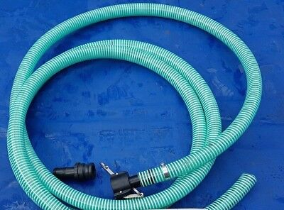 Jetter Mud Sucker Dirt Water Pipe Koi Carp Pond Extention Hose 5M Swimming Pool
