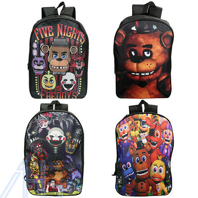 Five Nights at Freddy's Boys Girls School Backpack Travel Rucksack Shoulder Bag