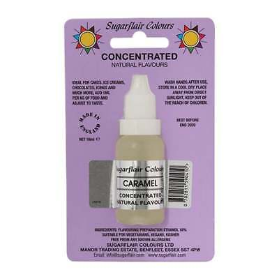 Sugarflair Caramel - Concentrated Natural Flavour 18ml