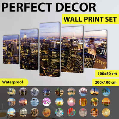 vidaXL Canvas Prints Framed Wall Art Decor Painting 50/200cm Multi Pattern