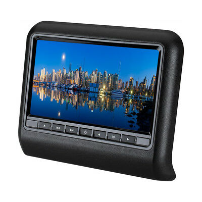 "9"" HD Digital LCD Touch Screen Car Headrest Monitor DVD Player SD Universal Good"
