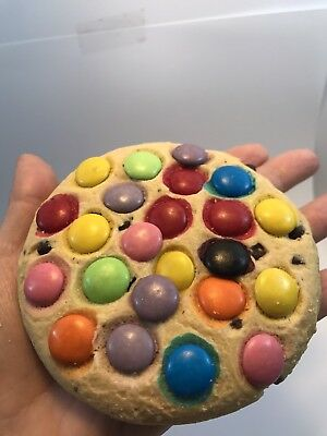 Smartie cookies cafe coffee Biscuits  chocolate choc chip kids childrens school