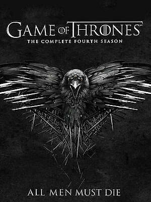 Game of Thrones: The Complete Fourth Season 4 (DVD, 2014)  Brand New & Sealed!!