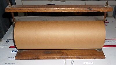 Antique General Store Paper Cutter With Vintage Paper Roll