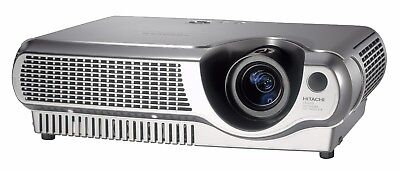Cheap Hitachi Home Cinema Projector Hdtv New Lamp Data Video Refurbish Warranty