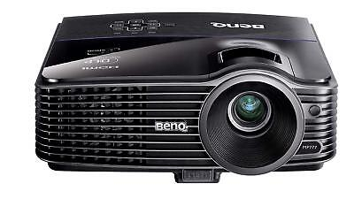 Mp721 Benq Home Cinema Projector 2500 Lumens New Lamp + Hdmi