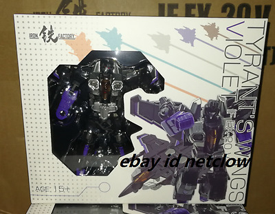 Transformers IronFactory IF-EX20V Tyrant Wings Violet Skywarp in Stock