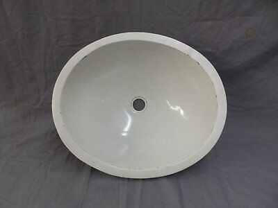 Oval Antique Vitreous China Porcelain Ceramic Under Mount Sink Basin 360-17P
